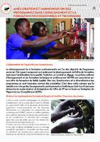 Fonds commun sectoriel de l'éducation - Amélioration et harmonisation des programmes