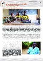 Fonds commun sectoriel de l'éducation - Décentralisation et transfert des compétences
