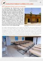 Fonds commun sectoriel de l'éducation - Infrastructures et matériels scolaires
