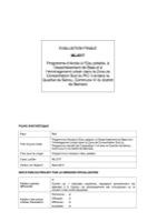 MLI/017 - Accès à l'Eau potable, à l'Assainissement de Base et à l'Aménagement urbain dans la Zone de Concentration Sud du PIC II
