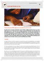 Fonds commun sectoriel de l'éducation - Scolarité des filles