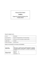 YUG/812 - Support for Capacity Building in the Forestry Sector
